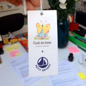 Partenariat Petit Bateau + l'école des loisirs